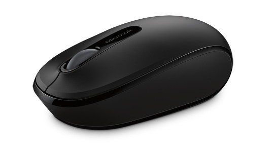 Mouse Wireless Mobile 1850 Win 7/8 bk