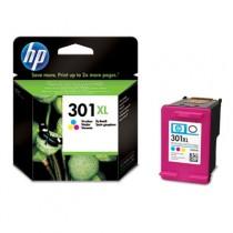 Tinteiro HP 301 XL Cor
