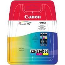 Tinteiro Canon CLI-526 C/M/Y Pack
